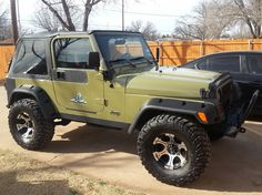 1997 Jeep TJ..Ole Coot and 2 Black Labs... Texas Project Jeep