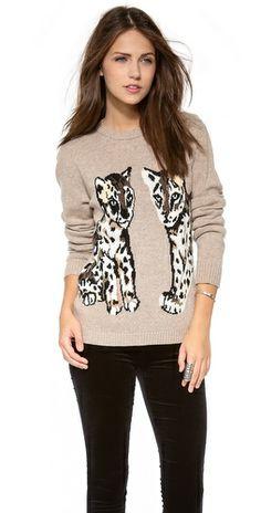 Paul & Joe Sister Animal Sweater