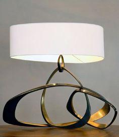 Table Lamp, Herve Van Der Straeten for Ralph Pucci Interior Lighting, Modern Lighting, Lighting Design, Light Table, Lamp Light, Table Lighting, Table Lamps, Home Interior, Interior And Exterior