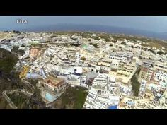 A lot of times I take virtual vacations on the internet. This is a great Youtube video of Santorini. You'll feel like you're there...
