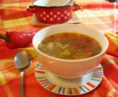 Beef and Fennel Soup by Transylvanian Kitchen