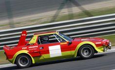 Fiat X-1/9 Fiat Sport, Sport Cars, Race Cars, Fiat Abarth, Fiat X19, Car Alignment, Rally Raid, Fiat Cars, Motosport