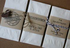 Tissues for tears of happiness / Taschentücher für Freudentränen im Nature-Look…