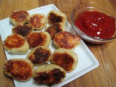 Dukan Diet Appetizer - Kari's Tator Tots made with cauliflower