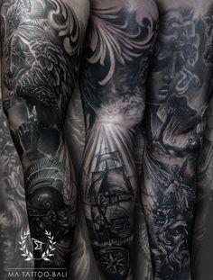 Surrealism Leg Sleeve Tattoo by: #Prima #MaTattooBali #GreekTattoo #SurrealistTattoo #BaliTattooShop #BaliTattooParlor #BaliTattooStudio #BaliBestTattooArtist #BaliBestTattooShop #BestTattooArtist #BaliBestTattoo #BaliTattoo #BaliTattooArts #BaliBodyArts #BaliArts #BalineseArts #TattooinBali #TattooShop #TattooParlor #TattooInk #TattooMaster #InkMaster #AwardWinningArtist #Piercing #Tattoo #Tattoos #Tattooed #Tatts #TattooDesign #BaliTattooDesign #Ink #Inked #InkedBoy #Inkedmag #BestTattoo… Ma Tattoo, Piercing Tattoo, Tattoo Shop, Tattoo Studio, Leg Sleeve Tattoo, Leg Tattoos, Cool Tattoos, Tattoo Master, Ink Master