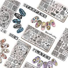 Born Pretty Store Blog: BornPretty NEW 春の歌Stamping Plates  Giveaway!!  http://www.bornprettystore.com/born-pretty-stamping-plates-c-760_763_761.html?ver=5015