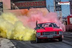 HQ Holden burnout Hq Holden, Aussie Muscle Cars, Article Search, Love Car, Concept Cars, Classic Cars, Red, Vintage Classic Cars, Classic Trucks
