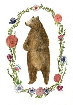 Bear by Lizzy Stewart, via Flickr