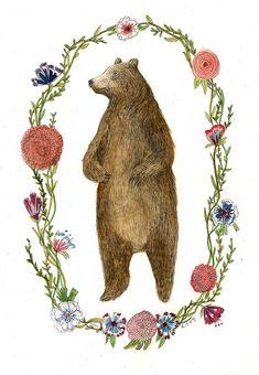 Bear by Lizzy Stewart, via Flickr