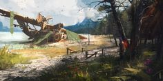 ArtStation - Crash me into pieces, Ismail Inceoglu