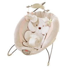 """Fisher-Price My Little Snugapuppy Deluxe Bouncer - Fisher-Price - Babies """"R"""" Us"""