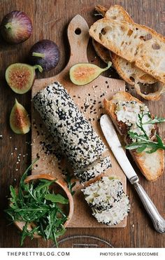 Impressive & Easy - This Goat's Cheese Roll is Our Kind of Starter | Recipes | The Pretty Blog