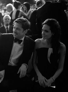 brad and angelina at the BAFTA's by greg williams