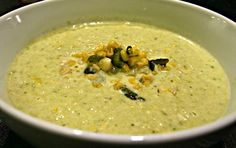 Two of my favorite ingredients come together in this soup: corn and poblano peppers. In this soup, you combine the sweetness of the corn, the smokiness of the poblanos and the creaminess of, well, …