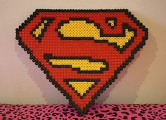 Superman perler beads by princessk
