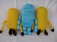 This is the first part of Knitting Pattern for Minions. The minions will look like this when you finish knitting Part 1 of the pattern. Y...