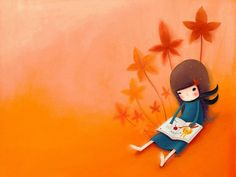 Wallpaper Series of Echi Illustrations (Vol.03)   - Korean Echi Illustration Wallpaper 24