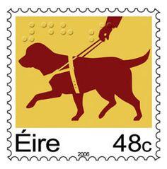 Ireland's First Braille Postage Stamp