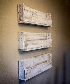 Another great find on #zulily! Reclaimed Wood Bookshelf - Set of Three #zulilyfinds