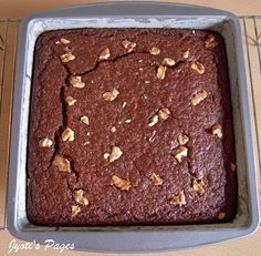 Eggless Chocolate Brownie