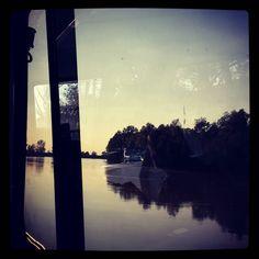 Boat trip #kialacamper #kialaontheroad #rvtrip #rvtravel #lifeisgood #happytime #boat #boattrip #mesola #poriver #porivervalley #romagna #italy #IloveItaly