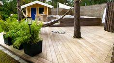 Beddinge, Outdoor Learning Spaces, Banks, Outdoor Gardens, Pergola, Deck, Backyard, Cabin, Island