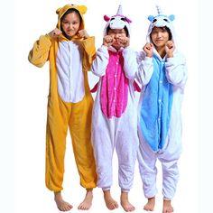 Animal Unicorn Jumpsuits Pajamas