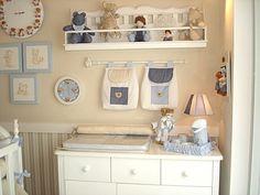 No post sobre decoração desta semana, vou falar sobre quartos de bebê menino. E já pode começar babando na foto acima! A estrela da decor...