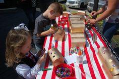 Pirate Party- Decorate Treasure Boxes! Super cute!