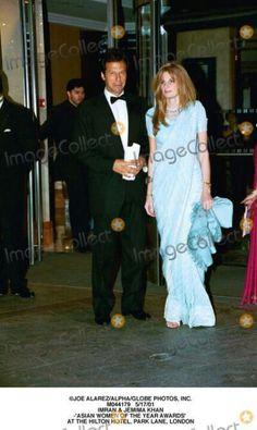 Jemima looking elegant and graceful in sari Jemima Goldsmith, Imran Khan Pakistan, Reham Khan, India Wedding, Wedding 2017, Funeral March, Veena Malik, Great Leaders, Sports Stars