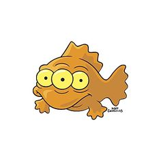 """""""Blinky"""" from The Simpsons."""