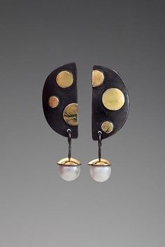 Judy H Morgan - Dot Dot Dot Earrings