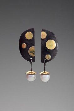 Judy H Morgan - Dot Dot Dot Earrings