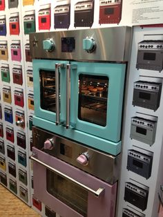 Blue Star French Door Double Wall Oven