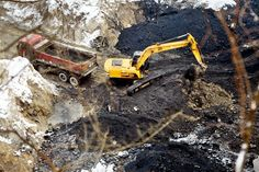 Dirty progress: 500 tonnes of #toxic #waste removed daily from #Bratislava quarry. More information in today's news.