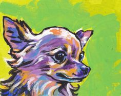 Popular items for abstract dog art on Etsy