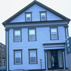 The Lizzie Borden House, scene of one of America's most notorious murder cases is now a Bed N Breakfast.