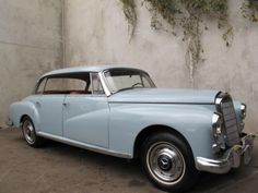 1959 Mercedes-Benz 300D Adenauer --- i still remember our wedding car!