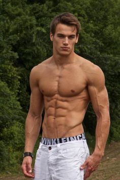 More of the young Marc Fitt and his amazing physique