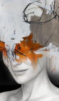 antonio mora Abstract Kate 2