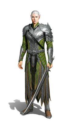Male elf fighter warrior - pathfinder pfrpg dnd d&d ed fantasy Fantasy Male, Fantasy Armor, Fantasy Fighter, Dungeons And Dragons Art, Dungeons And Dragons Characters, Elf Characters, Fantasy Characters, Fantasy Character Design, Character Art