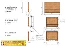 Plan de fabrication de ruche Dadant 10 cadres page4