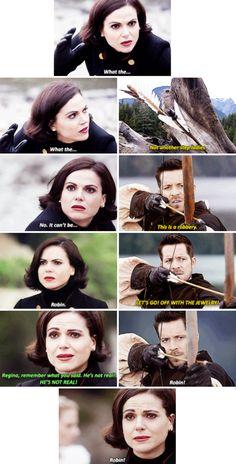 Regina, Robin Hood and Emma Swan  - 6*10 ~ Wish You Were Here