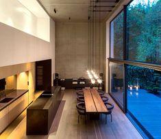 Der komplexe Innenausbau der Split Level Wohnung im Münchner Baudenkmal Isartalbahnhof erfolgte in Zusammenarbeit mit Binnberg Architekturentwicklung und..