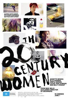 20th Century Women (2016) directed by: Mike Mills starring: Elle Fanning, Annette Bening, Greta Gerwig, Alia Shawkat