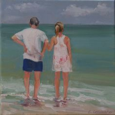 Original artwork from artist Carol Carmichael on the Daily Painters Gallery