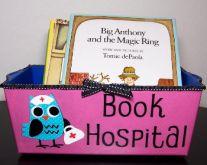 Book Hospital for damaged books