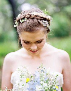 Floral Bridesmaids/flower girl