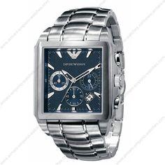 6f7beb65bf7 Emporio Armani AR0660 - Mens Stainless Steel Chronograph Designer Watch Relógios  Masculinos
