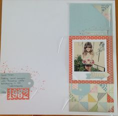 Stampin up Tea for Two designer paper, On Film framelit dies, gorgeous grunge stamp, calypso coral ink.